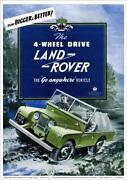 Land Rover Series Brochure