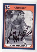 Autographed Wrestling Card