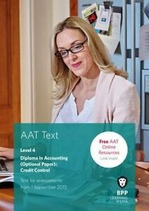 AAT Credit Control, BPP Learning Media