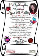 18th Birthday Card Daughter