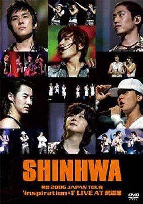 SHINHWA 2006 Japan Tour inspiration #1 Live At Budokan JAPAN EDITION 3 DVD