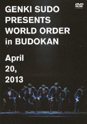 Genki Sudo Presents WORLD ORDER in Budokan DVD Japan