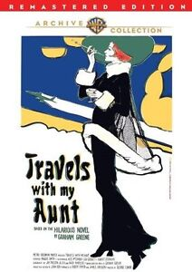 TRAVELS WITH MY AUNT (1972 Maggie Smith) - Region Free DVD - Sealed
