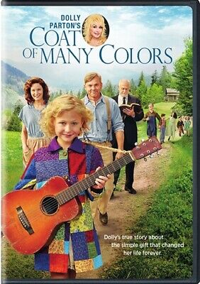DOLLY PARTON'S COAT OF MANY COLORS New Sealed DVD