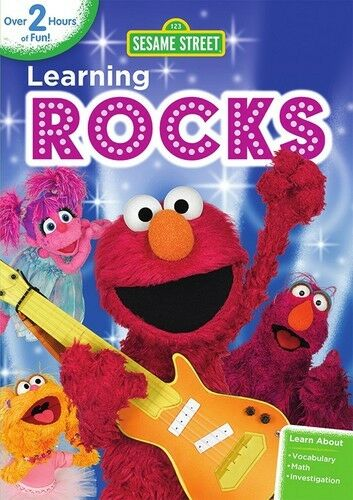 Sesame Street: Learning Rocks (2014, REGION 1 DVD New)
