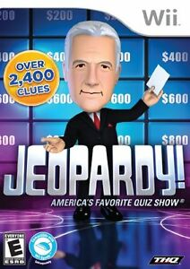 Wii Game: Jeopardy, America's Favorite Game Show