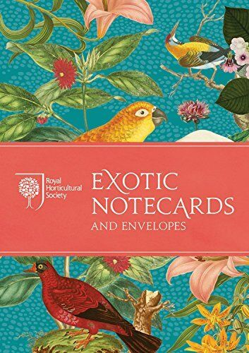RHS Exotic Notecards and Envelopes