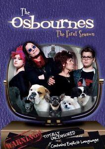 The Osbournes First Season-2 dvd set-Mint condition-Ozzy!