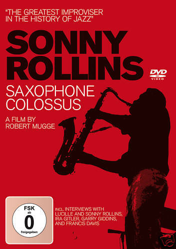 DVD Sonny Rollins Saxophone Colossus  A Film By Robert Mugge