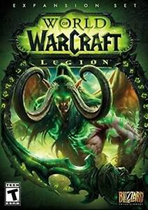 NEW Activision World of Warcraft Legion PC - Standard Edition Condtion: Like New, Standard