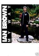 Ian Brown Signed