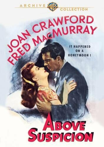 ABOVE SUSPICION (1943 Joan Crawford) -  Region Free DVD - Sealed