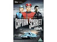 COMPLETE SERIES CAPTAIN SCARLET DVD SEALED