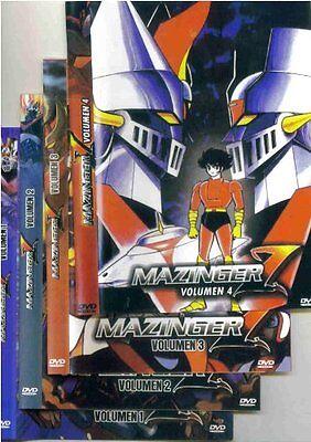 MAZINGER Z, 4 DVD SET Serie Completa Español Latino NEW SEALED Spanish Lot