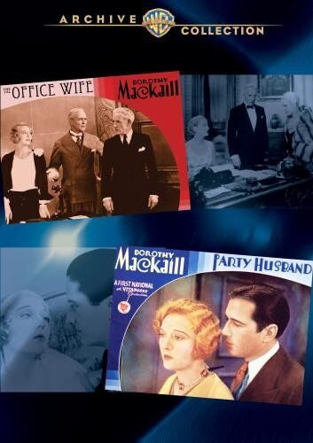 OFFICE WIFE - PARTY HUSBAND - (1930 Dorothy Mackaill ) Region Free DVD - Sealed