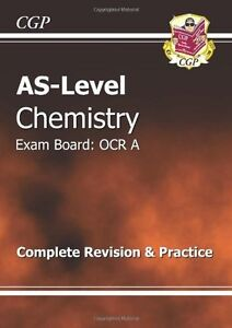 AS-Level Chemistry OCR A Revision Guide,CGP Books