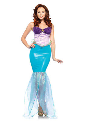Disney Princess Undersea Ariel Little Mermaid Costume sz Small 2-6