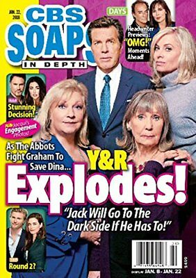 Cbs Soaps In Depth Magazine   January 22  2018   Young   The Restless Expolodes