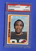 John Stallworth Rookie