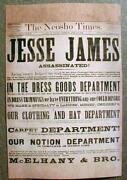 Jesse James Newspaper