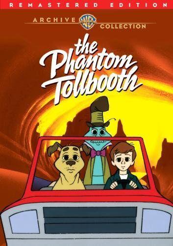 THE PHANTOM TOLLBOOTH (1970 Remastered Animation) Region Free DVD - Sealed