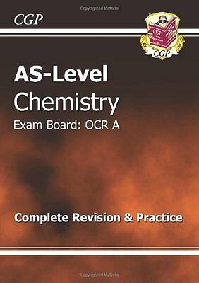 AS-Level Chemistry OCR A Complete Revision & Practice By CGP Books