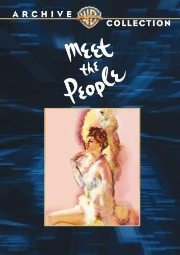 MEET THE PEOPLE - (B&W) (1944 Lucille Ball) Region Free DVD - Sealed