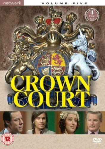 CROWN COURT the complete fifth volume 5. 4 discs. New sealed DVD.