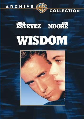 WISDOM (1986 Demi Moore, Emilio Estevez) - Region Free DVD - Sealed