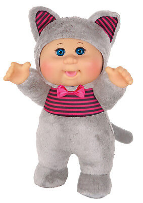 "Cabbage Patch Kids Cuties Doll: 9"" Harvest Helpers Collection - Allie Cat"