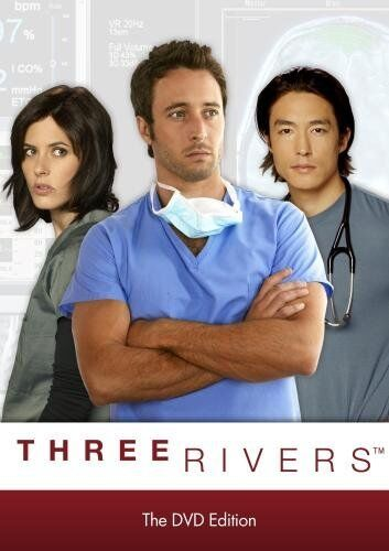 Three Rivers (Alex O'Loughlin) The Complete Series - Region 1 DVD - Sealed