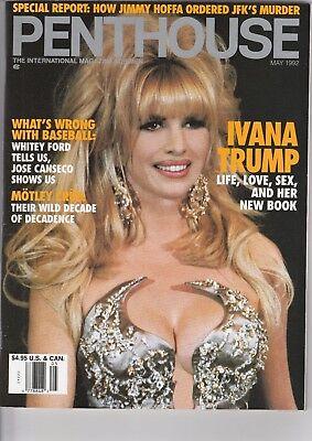 Penthouse May 1992  Ivana Trump