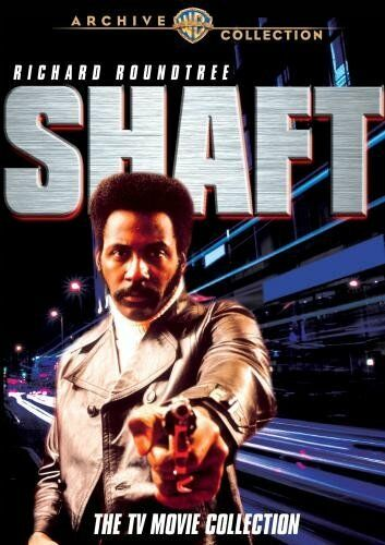 SHAFT: THE TV MOVIE COLLECTION (4 disc) 1973  - Region Free DVD - Sealed