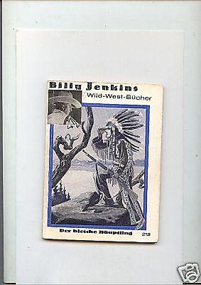 Billy Jenkins Original 1934-1939  Nr. 212 Dietsch Verl.