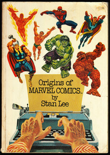 Stan Lee Origins of Marvel Comics 1st TPB _SIGNED x8_ Arthur Adams Defalco X-Men