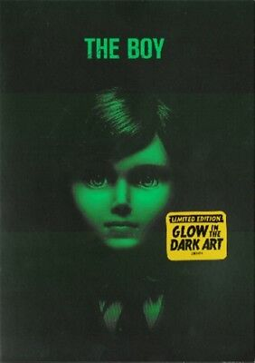 THE BOY New DVD 2016 Lauren Cohan Limited Edition Glow in the Dark Packaging - Spanish Halloween Activity