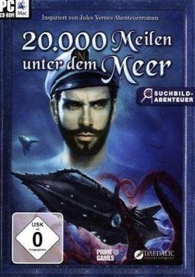 PC SPIEL CD ROM / 20.000 MEILEN UNTER DEM MEER / NEU & OVP
