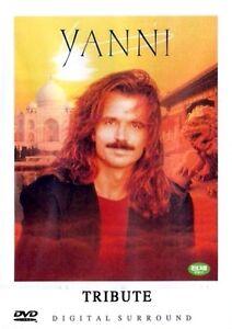 Yanni : Tribute (1997) New Sealed DVD