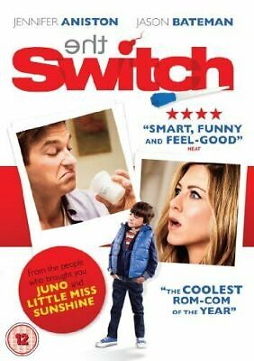 THE SWITCH JENNIFER ANISTON JASON BATEMAN LIONSGATE UK 2011 DVD NEW AND SEALED