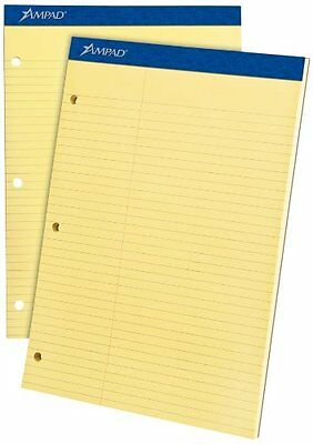 Ampad Double Sheet Law-ruled Writing Pad - 100 Sheet - 15 Lb - 8.50 X 20245