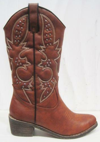 womens cowboy boots size 9 1 2 ebay