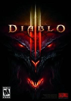Computer Games - Diablo III - PC/Mac - Computer Game - VERY GOOD