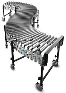 Flexible & Portable Roller Conveyor - expands to 20 feet