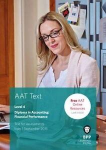 AAT Financial Performance, BPP Learning Media