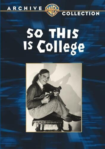 SO THIS IS COLLEGE - (B&W) (1929 Robert Montgomery) Region Free DVD - Sealed