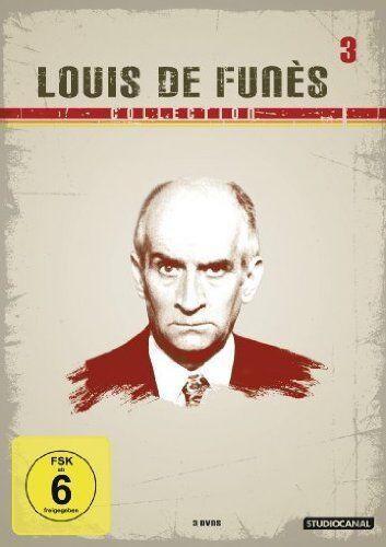 3 DVDs * LOUIS DE FUNÈS COLLECTION 3 # NEU OVP /