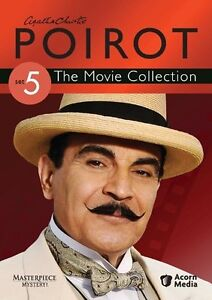 Agatha Christie's Poirot: The Movie Collection, Set 5 New DVD! Ships Fast!