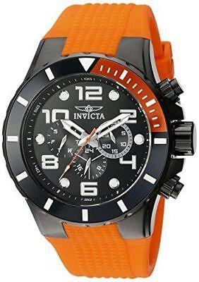 Invicta Men's 18742 Pro Diver Analog Display Swiss Quartz Orange Watch