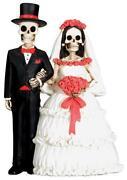Skull Wedding Cake Topper