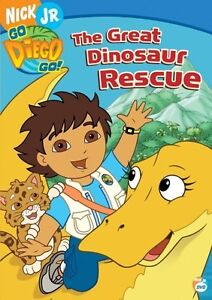DVD Go Diego Go - The Great Dinosaure Rescue